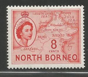 NORTH BORNEO, 266, HR, MAP