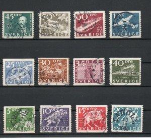 Sweden 251-262 used