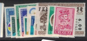 Uruguay SC 348-56, 358-9 MOG (10dtx)