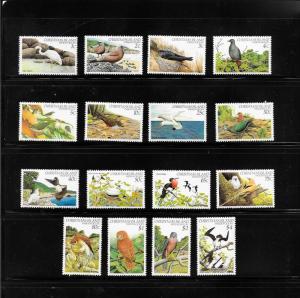 BIRDS - CHRISTMAS ISLAND #117-32   MNH