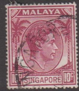 Singapore Sc#9a Used