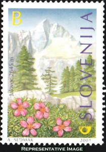 Slovenia Scott 448 Mint never hinged.
