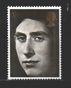 England. 1969. 526 from the series. Prince Charles. MNH.