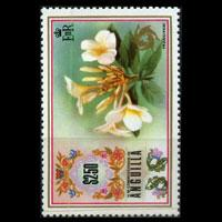 ANGUILLA 1972 - Scott# 158 Flower $2.5 NH