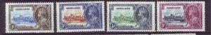 J21931 Jlstamps 1935 sierra leone set mh #166-9 silver jubilee