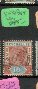 SEYCHELLES  (P2605B)  QV   16C    SG  6    B64        VFU