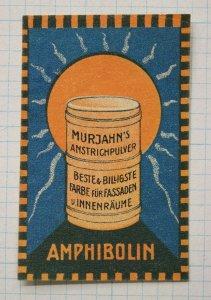 amphibolin murjahns face paint powder makeup blush art deco ad poster stamp