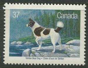 STAMP STATION PERTH Canada #1217 Dogs Issue 1988 MNH CV$1.00
