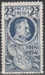 Poland #282   MNH  (S9586)