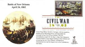 Civil War Sesquicentenni FDC, w/ DCP cancel,  #1 of 2