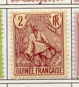 French Guinea 1904 Early Issue Fine Mint Hinged 2c. 193445