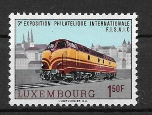 Luxembourg 1966 Dieselelectric locomotive BR 1800 of the CFL MNH**