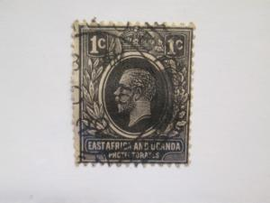 East Africa & Uganda Protectorates #40 used