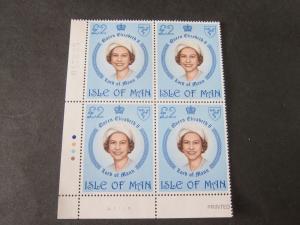 Isle Of Man 1981 Sc 200 BLK(4) MNH