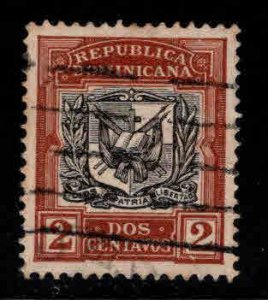 Dominican Republic Scott 174 Used coat of arms stamp