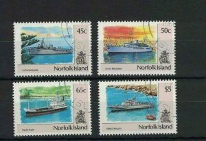 MNI6) Norfolk Island 1991 Ships II CTO/Used