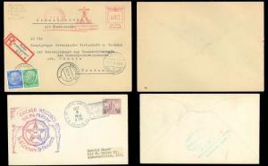 1933-73 (7) WORLDWIDE COVERS Austria, Germany, Nepal, Penang, Russia USA (2)!