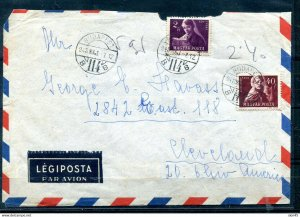 Hungary 1948 Cover to USA  11475