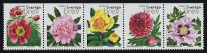Sweden 2417 MNH Flowers, Peonies