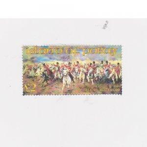 PABAY, British Local - 2015 - Battle of Waterloo - Perf MNH Single Stamp