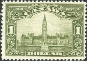 CANADA #159 VF OG NH GEM CV $600.00 BN6663