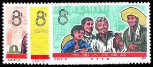 CHINA- PRC 1275-77  Mint (ID # 77514)