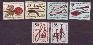J23243 JL stamps 1981 DDR germany set mnh #2213-8 medical