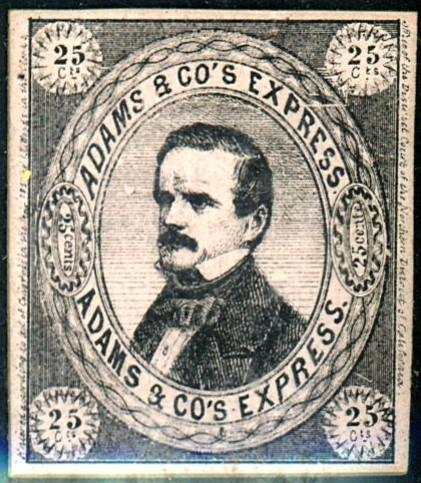 Adams Express Co. Local Proof