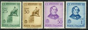 ITALY 1942 ROSSINI Set Sc 423-426 MNH