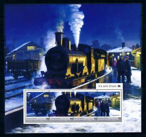 [93271] Young Isl Gren St. Vincent 2011 Railway Train Eisenbahn Sheet MNH