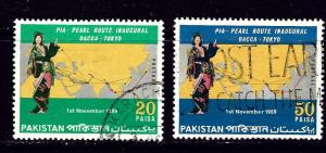Pakistan 279-80 Used 1969 set