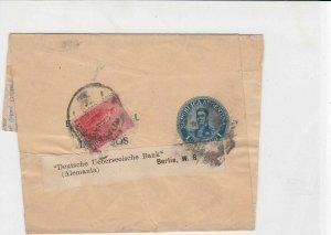 Argentina Vintage Newspaper stamps wrapper ref 21650