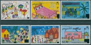 Anguilla 1978 SG308-313 Christmas set MNH