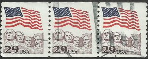 # 2523 USED FLAG OVER MOUNT RUSHMORE