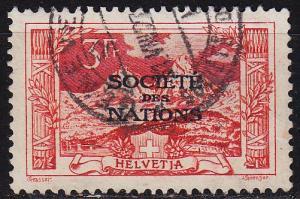 SCHWEIZ SWITZERLAND [SDN] MiNr 0013 ( O/used )