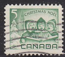Canada 477 Hinged Used 1967 Children Carolling