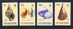 St. Helena 356-359, MNH, 1981. Marine Life. x29485