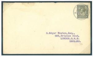 376f TRISTAN da CUNHA 7d GB KG5/GB London Edgar Weston {samwells-covers}