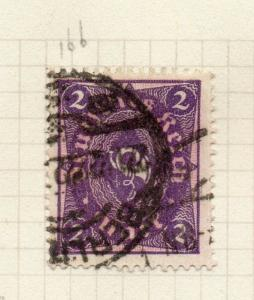 Germany 1921 ( Lozenge Wmk.) Early Issue Fine Used 2M. 299636