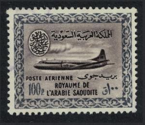 Saudi Arabia Vickers Viscount 800 Aircraft 1v 100p canc KEY VALUE SG#441 SC#241