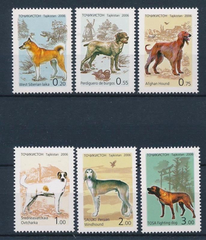 [34534] Tajikistan 2006 Animals Dogs  MNH