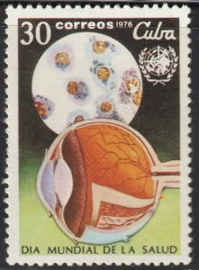 1976 Cuba Stamps Sc 2048 World Health Day MNH
