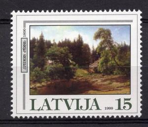Latvia   #496  1999   MNH  landscape by Feders