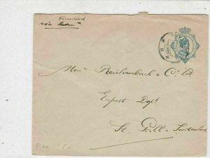 Suriname 1920 Surinaamsche Bank Paramaribo Stamps Cover  ref 22342