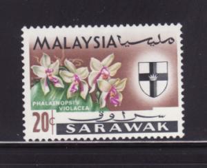 Sarawak 234 MHR Flowers, Orchids