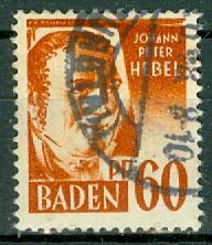 Germany - French Occupation - Baden - Scott 5N10