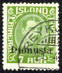 Iceland Sc# O70 Used 1936 Official