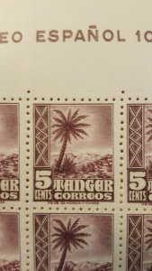 Spanish Morocco - Tangier #L14* NH Full sheet of 100