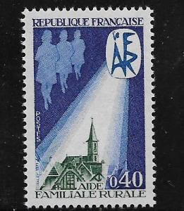 FRANCE, 1309, MNH, RURAL FAMILY AID
