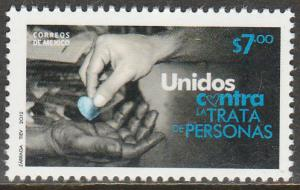 MEXICO 2777, CAMPAIGN AGAINST HUMAN TRAFFICKING.. MINT, NH. F-VF.